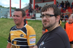 4. Rebels Chairman John Beach knows the final whistle can't be far away