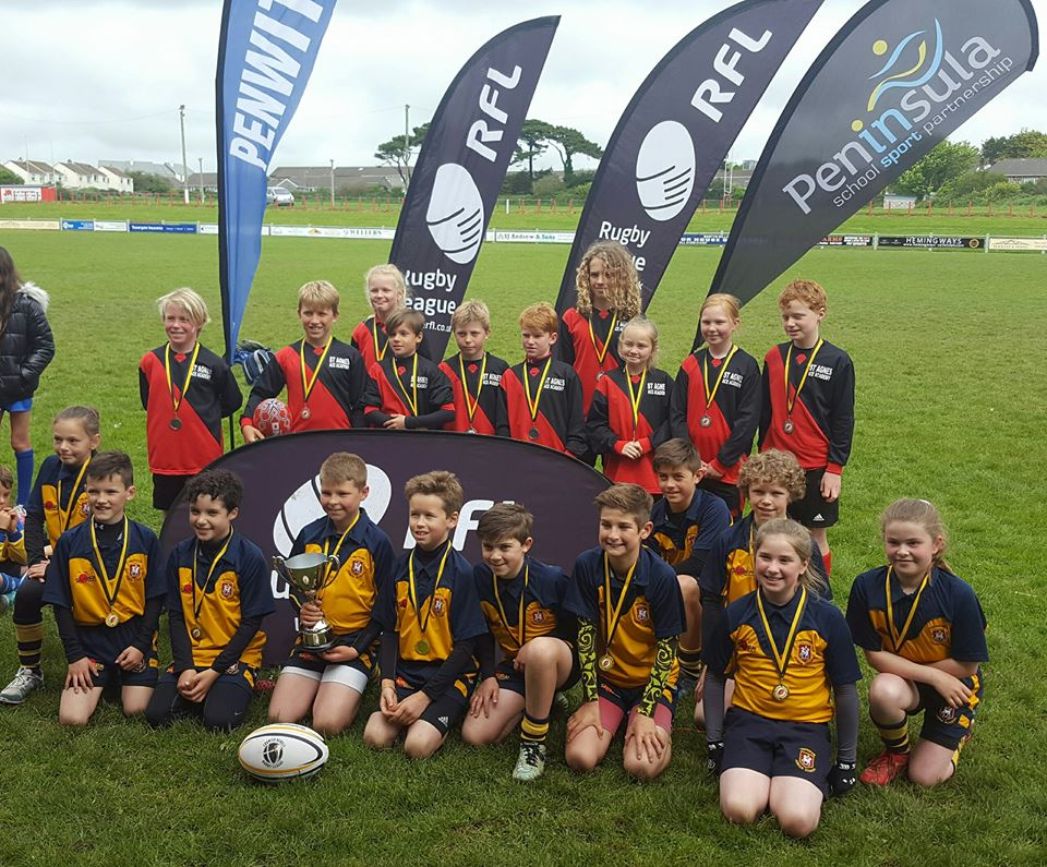 Trewirgie Infant and Junior School won the cup by beating St Agnes in the Cup Final